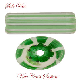 Murano Glass Canes, Cane Glass a centuries old tradition.