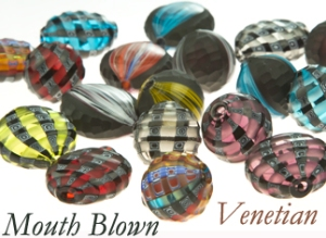 Murano Glass Blown Beads,Mouth blown,Murano Beads