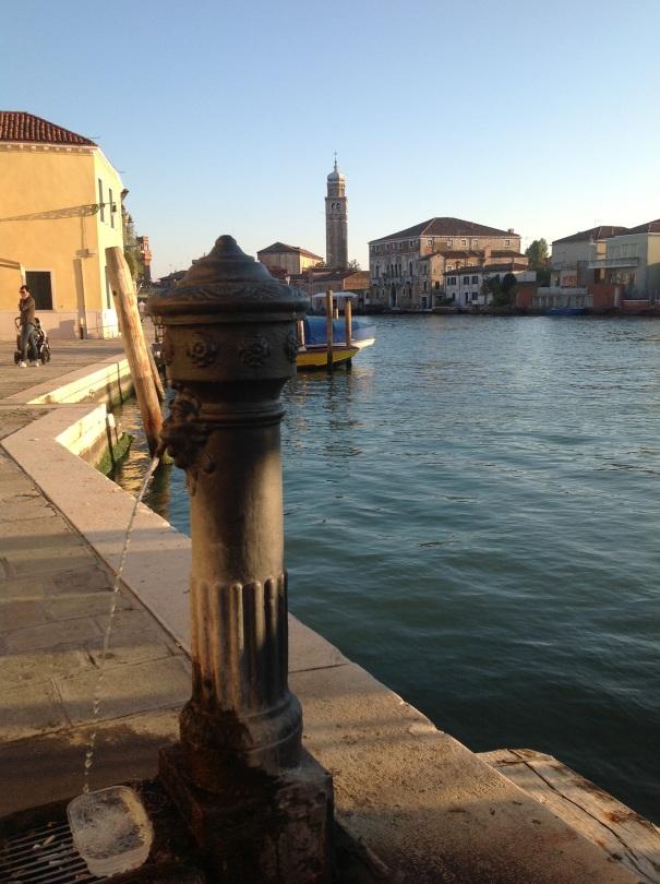 Murano Italy, Canal, Murano Glass Factory