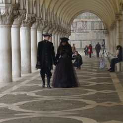 Doges Palace at Carnival