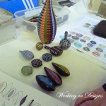 Venetian Bead Shop working on New Designs in Murano