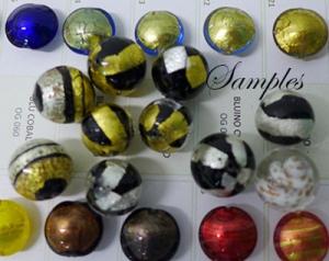 Samples Venetian Glass Beads