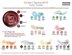Pantone,Swarovski,Spring 2015,Color Trends,Venetian Beads