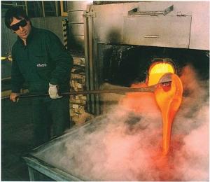 Murano Glass Production,Effetre Moretti Cane Maker Murano Italy
