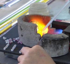 Beadmaking Murano Glass Beads with Millefiori