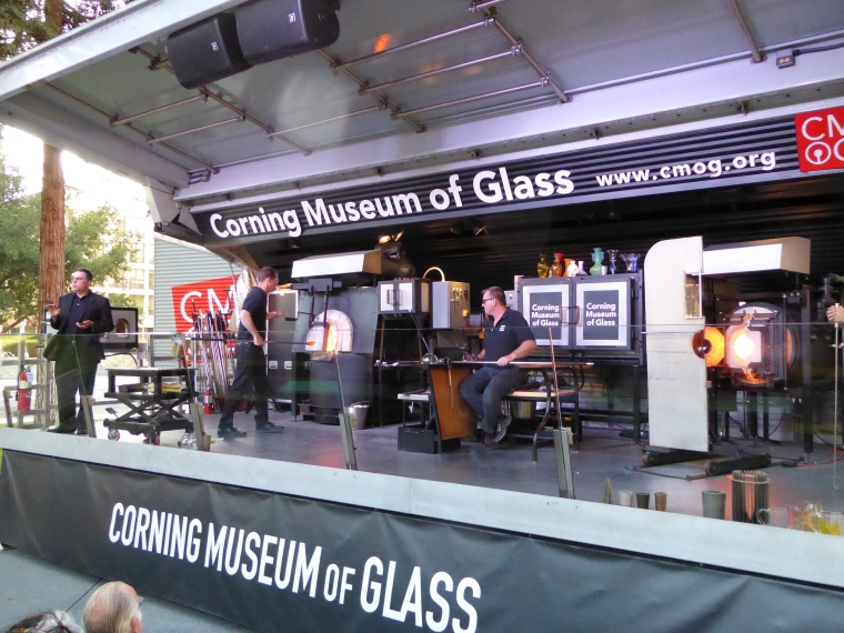 Corning Museum of Glass Mobile Furnace