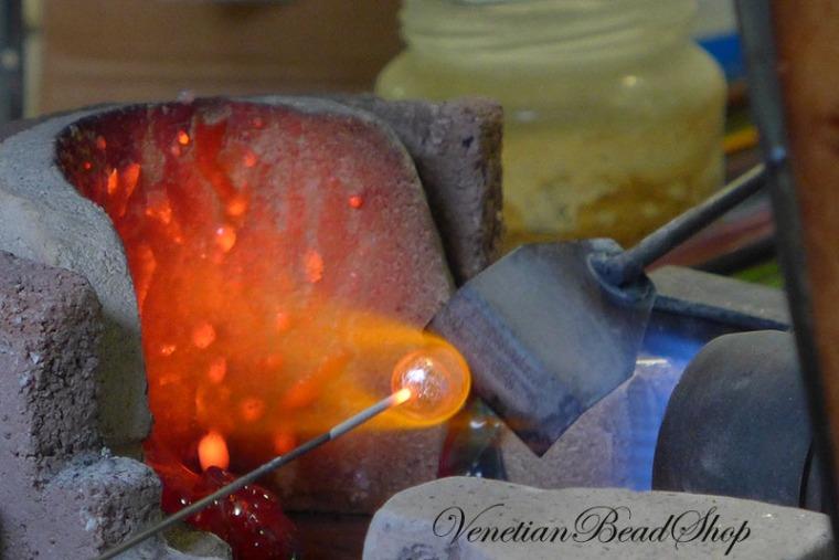 Murano Glass Beads,Making Venetian Beads,Lampwork Beads
