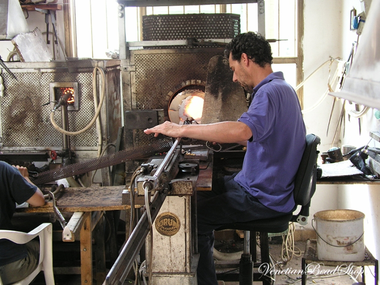 Murano Glass Furnace,Murano Glass,Venetian Glass Beads