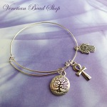VenetianBeadShop Adjustable Bangle Bracelet Free Design
