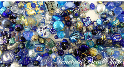 Venetian Beads ready to make Jewelry