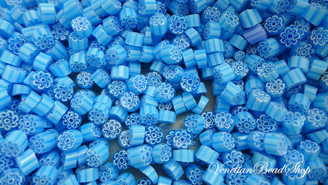 Murano Glass Millefiori Slices