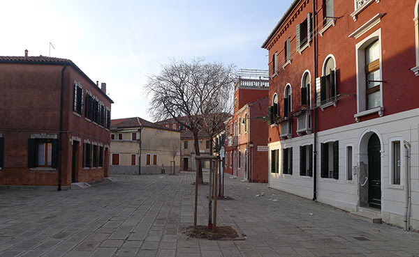 Murano in August - Where are the People