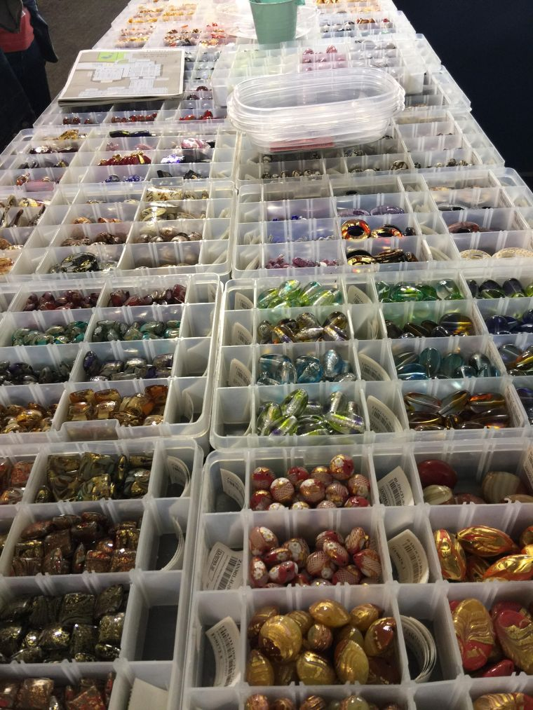 More Venetian Beads