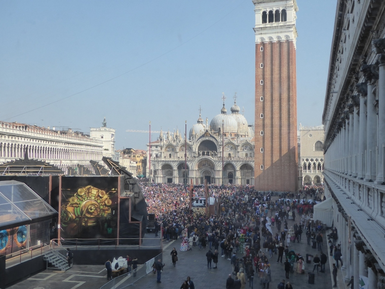 Piazza San Marco,Carnevale Venezia,Carnival Venice,Venice