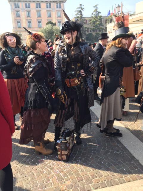 Carnevale Venezia,Venice Carnival,Steam Punk Costumes,Venice